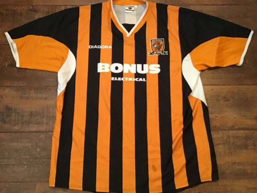 2005 2006 Hull City Home Football Shirt XL